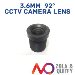 "2pcs 3.6mm 92 Degree Wide Angle CCTV Lens IR Board Lense for 1 3"" & 1 4"" CCD cam"