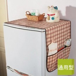 Armadura usada en venta-La bolsa no tejida de la Muti-uso de la cubierta de la prueba del polvo del refrigerador del enrejado del refrigerador de la tela 1PC de la nueva llegada organiza el bolso del almacenaje