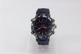 Wholesale Mens Black Athletic Department Store Ar5905 Chrono Silicone Bracelet Watch