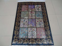 Wholesale classical persian handknotted oriental hand made silk carpets and rugs