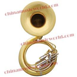 Wholesale China Music World Bb Tonality High grade Sousaphone CMWSH