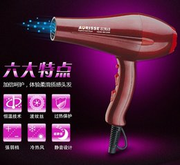 Wholesale Salon Professional Hair Dryer Blow with nozzles hairdryer travel two speed control cold or hot high quality