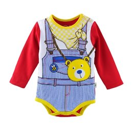 90pcs lot Baby Clothes Sleeved Newborn Boys Bodysuits Cotton Toddler Shirts Girls Body suit costumes Infant Jumpsuits Babywear