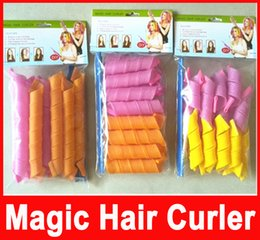 Amazing Magic Leverag Hair Curlers Curlformers Hair Roller Hair Styling 20cm 30cm 45cm 55cm long Tools In Stock