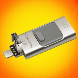 Wholesale gb Generic Usb stick for Apple Iphone Ipad Phone Computer Usb Extend SD Memory Card Flash Drive PenDrive style U Disk SL45