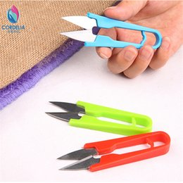 Wholesale 2016 china best selling U shaped professional nipper embroidery scissors for sewing machine as emboridery tools for DIY seam cutter clipper