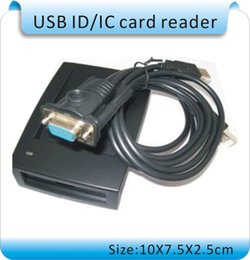 Wholesale Shipping ZC909 KHZ frequency ID card reader access control card machines RS232 port text output cards