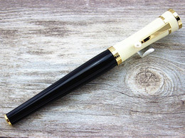 Wholesale Luxury Greta Garbo Special Limited Edition Roller Ball Pen Screw Type Cap Unique Executive Writing Pens With Pearl Clip