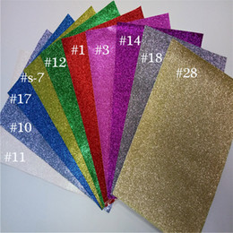 Wholesale Christmas Wall Backdrops - Colorful background wallpaper 20x30cm glitter wall paper use craft