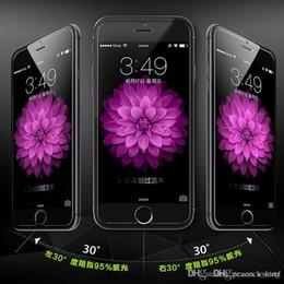 Iphone vidrio de alta calidad en venta-2016 Tiempo-limitado Promoción Alta calidad delantera para Iphone 6s vidrio templado, prima para la película del protector de la pantalla de Samsung para Apple y más Hd