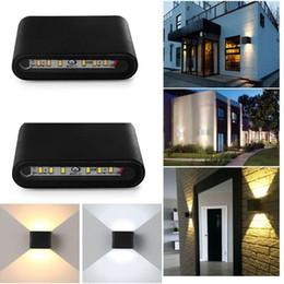 2017 dans la lumière conduit 6w Hot New 6W LED moderne vers le haut vers le bas Mur Lumière Porche Hall Lampe Sconce Walkway Plafond Éclairage B503 dans la lumière conduit 6w autorisation