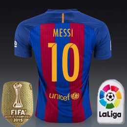 Wholesale Size XL Barcelona Neymar Jerseys Camiseta de futbol SUAREZ INIESTA PIQUE SOCCER JERSEYS Away Purple Messi football shirts