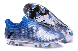 Wholesale Original messi Chaos accelerator speed of light series soccer cleats boots X PureChaos football shoes Purechaos FG AG39 X soccer shoe