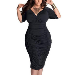 Women Bodycon Sexy Short Sleeve Ruffle Plus Size V Neck Long Maxi Vogue Charming Comfortable Good Selling Sundress Dress