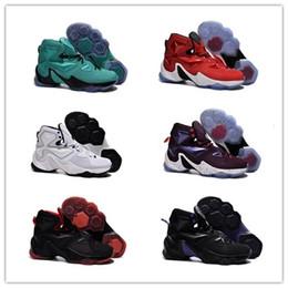Wholesale New arrival fashion xiii men infrared LBJ XIII basketball shoes door to door best service size