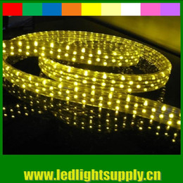 AC 110V 5wire flat neon rope light 11*26mm 50m(164') led Christmas light neon strip ribbon duralight led rope light 144leds M