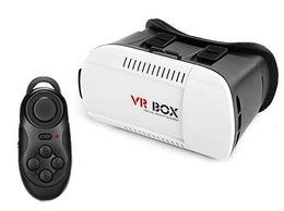 Wholesale 2016 Head Mount plástico VR BOX versión VR Virtual Reality Gafas Rift Google Cardboard D Movie para Smart Phone