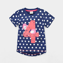 36pcs Girls T-Shirts Kids Clothes Jumping Beans Fashion Children T Shirt Baby Boys Outfits 100% Cotton Kids Tops Summer Clothes