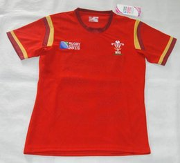 Wholesale Rugby Union Rugby World Cup Wales Country new jersey High temperature heat transfer printing jersey Rugby Shirts