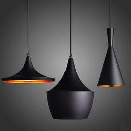 Wholesale New Thick Aluminum Beat Musical Instrument Hanging Pendant Light Restaurant Bar Living Room Bedroom Lighting ABC Sets Free EMS
