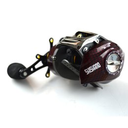 Wholesale Promote Baitcasting Reel Ball Bearings Left Hand Right Hand Bait Casting Fishing Reels Coil Gear Pesca Baitcast Reeling