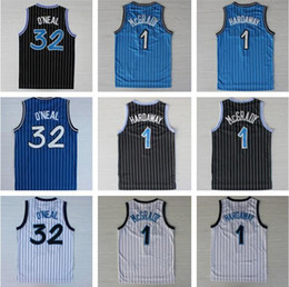 Wholesale Top Quality Men Tracy Mcgrady Penny Hardaway Shaquille Oneal Throwback O neal Rev Jerseys Embroidery Logo Mix Order