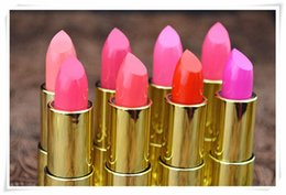 Wholesale Hot style of foreign trade in Coloring signs Tu Hao gold lipstick gold tube moisturizing color manufacturers lipstick make up