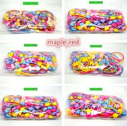 Girls Elastic Hair Ties Bracelets Headband Band Rope Ponytail Holders 50Ppcs Bag High Quality In EU & AU
