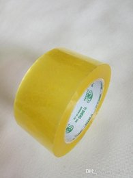 Bopp packing tapes strong force transparent single sided adhesive tapes packing materials for carton sealing 110Y X 55mm