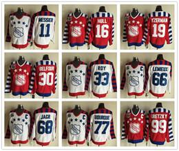 Wholesale NHL TH All Star Jersey Wayne Gretzky Steve Yzerman Bobby Hull Ed Belfour Mario Lemieux Joe Sakic Patrick Roy Jaromir Jagr Ray Bourque Mark