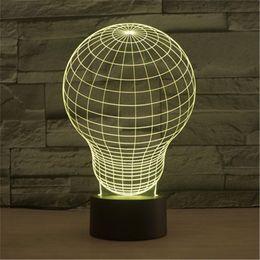 Wholesale Hot LED Table Lamp Avatar Wink Bedroom Night Light Acrylic Nightlight Dark World Of Home Decoration Light D TD105
