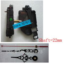 Wholesale 1set Quartz Pendulum Clock Movement Kit Spindle Mechanism shaft mm Jump seconds tick sound mechanism