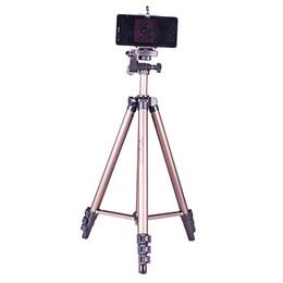 Descuento soportes de cámaras digitales WEIFENG WT3130 mini foto smartphone montaje digital cámara trípode soporte universal viaje trípode portátil para cámara de acción deportiva