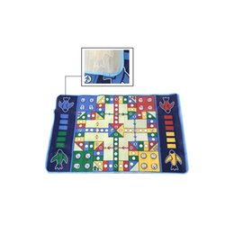 Wholesale Battle Ludo Flying Airplane Plastic Carpet Chess Kids Children Develop Intelligence Game
