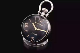 Super Clone Luxury Brand Watch Design Cheap High Quality Best Home Gift PAM00581 PAM581 8 Days Silver Wall Clock With Original Box Papers