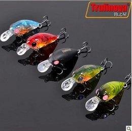 Trulinoya DW24 3.5cm / 3.5g petite CRANKBAIT pêche seaux set Kits, manivelle pêche dur appât, 5pcs / lot, Livraison gratuite à partir de pêche crankbait leurres petite fabricateur