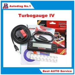 Wholesale Turbogauge IV The ultra compact in Vehicle Computer OBDII EOBD car trip computer Digital Gauges scan gauge car scan tool