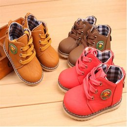 2016 Autumn Winter New Arrival Ankle Children Shoes For Boys And Girls Martin Boots Single boots Waterproof Boots Fashion Kids Shoes