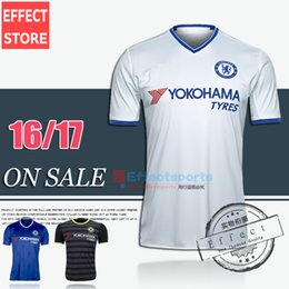 Wholesale Best Quality Chelsea soccer jersey HAZARD home bule Away White Third Black PEDRO PATO ZOUMA DIEGO COSTA WILLIAN football shirts