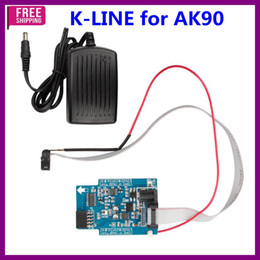 Wholesale K-LINE OD46J EWS3 Adapter for AK90 works together with AK90 for EWS immobiler key programming best quality Free Shipping