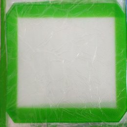 Wholesale Best Silicone Baking Mat Set Work As Cookie Sheets Reusable Non stick Surface Small Square x4