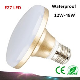 NEW AC85-26540V E27 12W 18W 24W 36W LED 5630SMD Super Bright UFO Light LED Bulb White Light Lamp