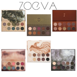 Wholesale 2016 ZOEVA Eyeshadow Palette Mixed Metals cocoa blend rose golden New Collection ship by fast