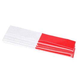 Wholesale Hot sale Automobile Car Body Reflective Rim Sticker Wheel Decal Tape Bike Motorcycle Car Red white MGO3
