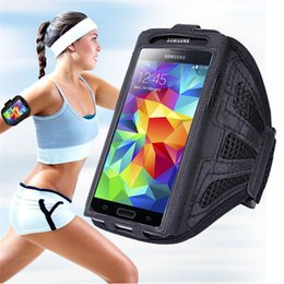 Sports Running Armband Nylon Cases For Samsung Galaxy S7 Edge Note Series Iphone SE 5S 6 6Plus