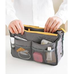 Women Travel Insert Handbag Purse Large liner Tote Bags Organizer Bag Storage Bags Amazing make up bags 14 Colors
