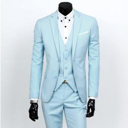 Wholesale 2016 vestido de novia novio caliente adaptarse a una de tres piezas traje traje de los hombres de negocios