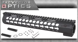 Wholesale Vector Optics AR15 M4 Ultra Slim Lightweight KeyMod inch Tactical Free Float Handguard Picatinny Rail Mount with with Steel Barrel Nut