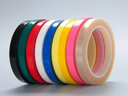 Wholesale 2016 Mylar Heat Resistant Adhesive InsulationTape mm m colors mylar tape for cable binding and shield with factory price