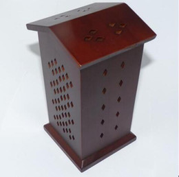 Wholesale Hot sale Both sides of the topWooden smoked incense burner